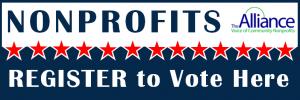 Nonprofits REGISTER to Vote Here